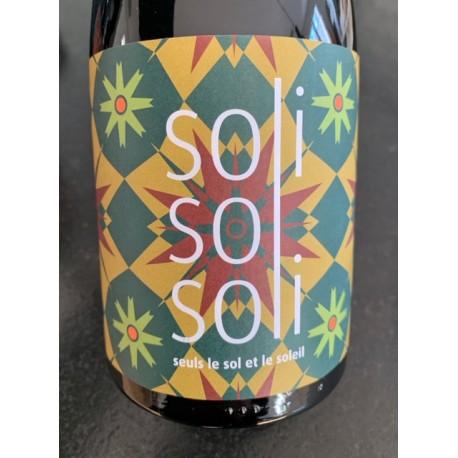 Marie & Guillaume Loison Chabrol Vin de Table Français Soli Sol Soli 2015