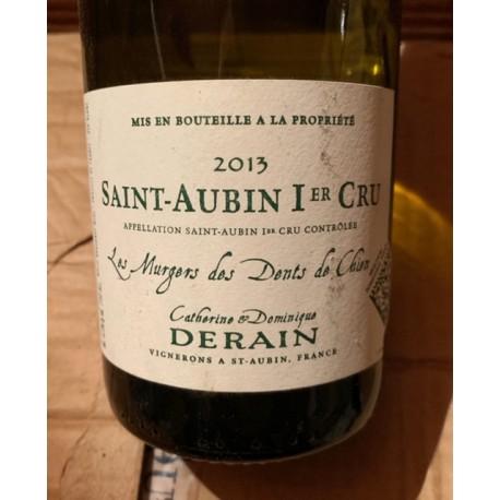Domaine Derain (Négoce) Saint Aubin blanc 1er Cru Murgers Dents de Chien 2013