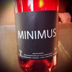 Nicolas Carmarans Vin de France rosé Minimus 2018 Magnum