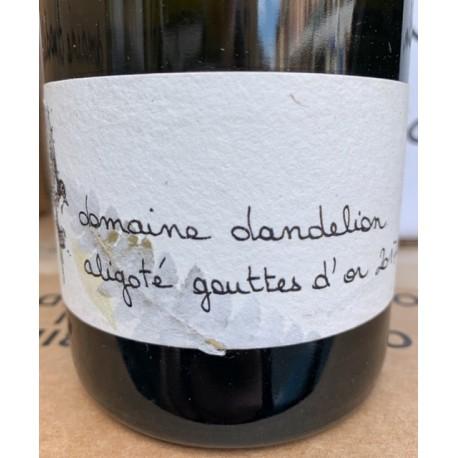 Domaine Dandelion Bourgogne Aligoté Gouttes d'Or 2017