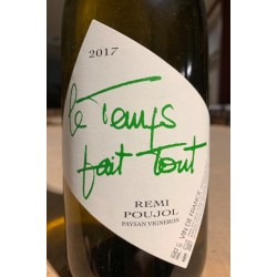Rémi Poujol Vin de France blanc Le Temps Fait Tout 2017