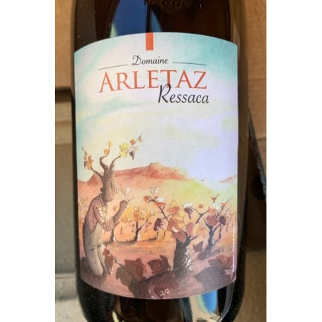Benoit Arletaz Vin de France blanc Ressaca 2017
