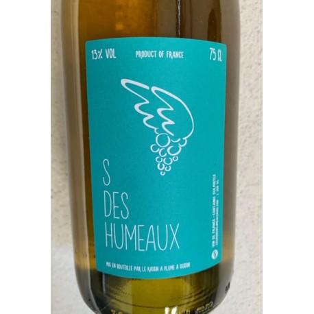 Le Raisin à Plume Vin de France blanc S des Humeaux 2016
