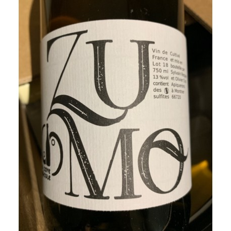 La Cave Apicole Vin de France blanc Zumo 2018