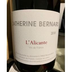 Catherine Bernard Vin de France Alicante Bouschet 2018