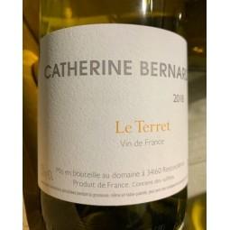 Catherine Bernard Vin de France blanc Terret 2018