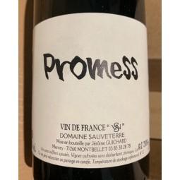 Domaine Sauveterre Vin de France rouge Promess 2018