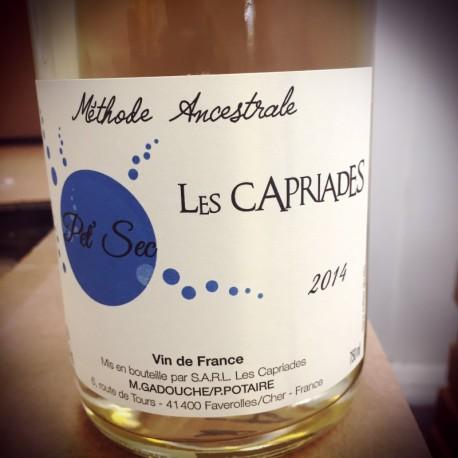 Les Capriades Vin de France Pet' Nat blanc Pet Sec 2018