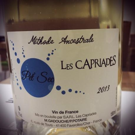 Les Capriades Vin de France Pet' Nat blanc Pet Sec 2015 Magnum