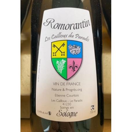 Les Cailloux du Paradis Vin de France blanc Romorantin 2015