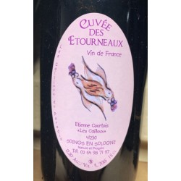 Les Cailloux du Paradis Vin de France rouge Cuvée des Etourneaux 2015