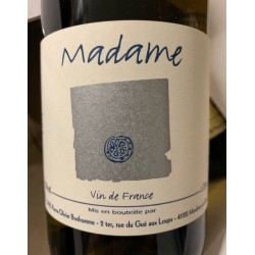 Pierre-Olivier Bonhomme Vin de France blanc Madame 2015