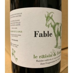 Le Raisin et l'Ange (Azzoni) Vin de France Fable 2018