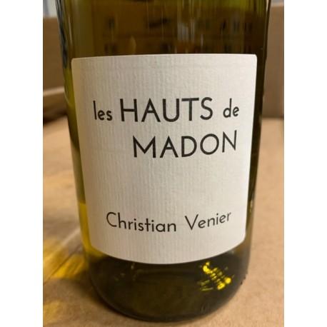 Christian Venier Cheverny blanc Les Hauts de Madon 2015