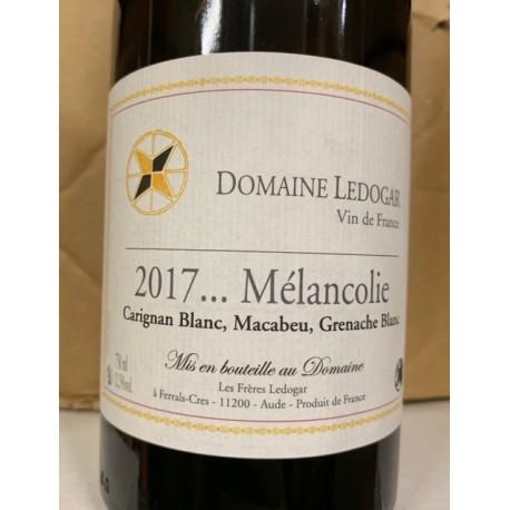 Domaine Ledogar Vin de France Mélancolie 2017