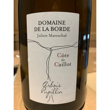 Domaine de la Borde Arbois Pupillin Chardonnay Côte de Caillot 2018