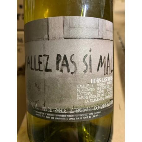 Lestignac Hors les Murs Vin de France blanc N'Allez pas si mal 2018