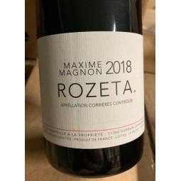Maxime Magnon Corbières Rozeta 2016