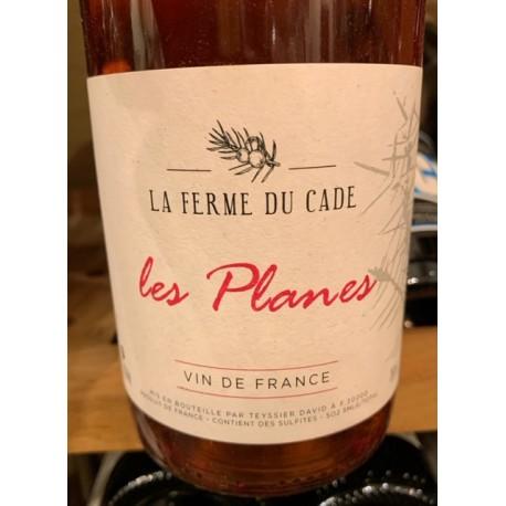 La Ferme du Cade Vin de France rosé Les Planes 2018