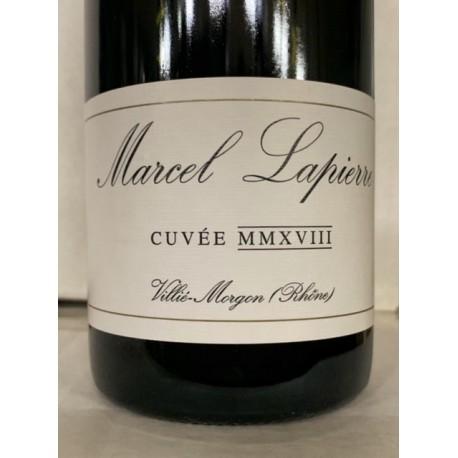 Domaine Lapierre Morgon Cuvée Marcel Lapierre 2011