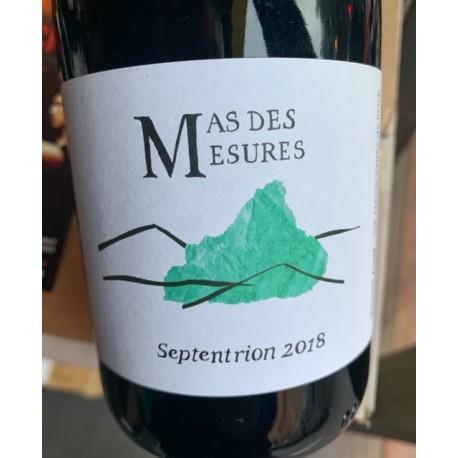 Mas des Mesures Vin de France rouge Septentrion 2018