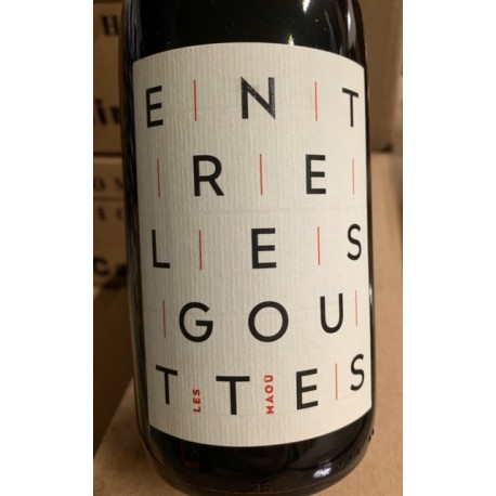 Les Maou Vin de France rouge Entre les Gouttes 2018