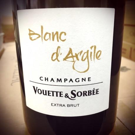 Domaine Vouette & Sorbée Champagne Brut Blanc de Blancs Blanc d'Argile (2015 + 16, dégorgement 2019)