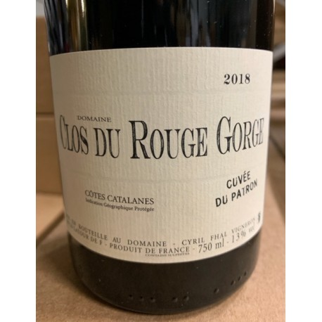 Clos du Rouge Gorge Vin de Pays des Côtes Catalanes Jeunes Vignes 2015