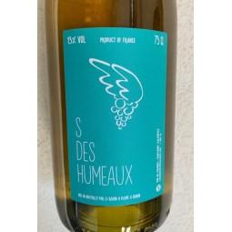 Le Raisin à Plume Vin de France blanc S des Humeaux 2018