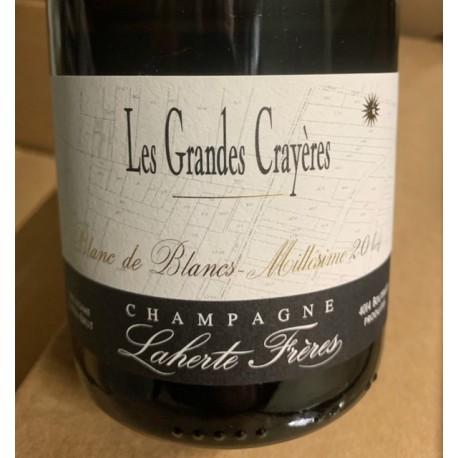 Laherte Frères Champagne Blanc de blancs Les Grandes Crayères 2014