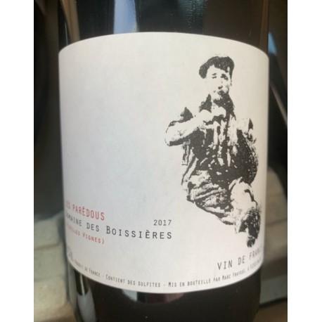 Domaine des Boissières Vin de France rouge Les Parédous 2017
