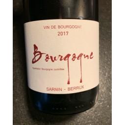 Sarnin-Berrux Bourgogne 2017