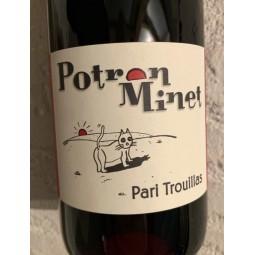 Domaine Potron Minet Vin de France rouge Pari Trouillas 2018