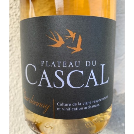 Domaine Plateau du Cascal Vin de France blanc Chardonnay 2017