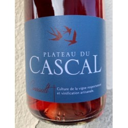 Domaine Plateau du Cascal Vin de France rouge Cinsault 2017