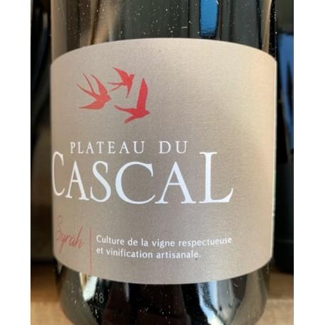 Domaine Plateau du Cascal Vin de France rouge Syrah 2018