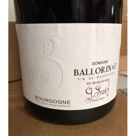 Domaine Ballorin Bourgogne G Soif 2018 Magnum