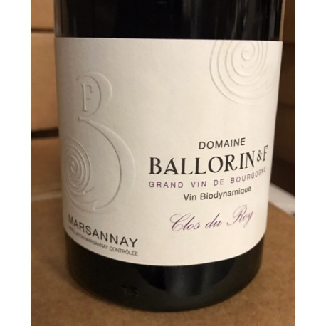 Domaine Ballorin Marsannay Clos du Roy 2018