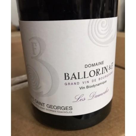 Domaine Ballorin Nuits Saint Georges Les Damodes 2018