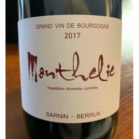 Sarnin-Berrux Monthélie 2013
