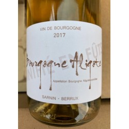 Sarnin-Berrux Bourgogne-Aligoté Fûts 2017