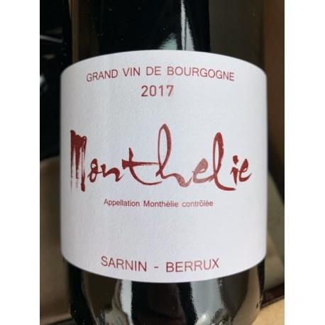 Sarnin-Berrux Monthélie 2017