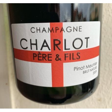 Domaine Charlot Champagne Brut Nature Pinot Meunier 2009