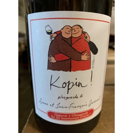 Anne & Jean-François Ganevat Vin de FRance blanc Kopin 2017-2018