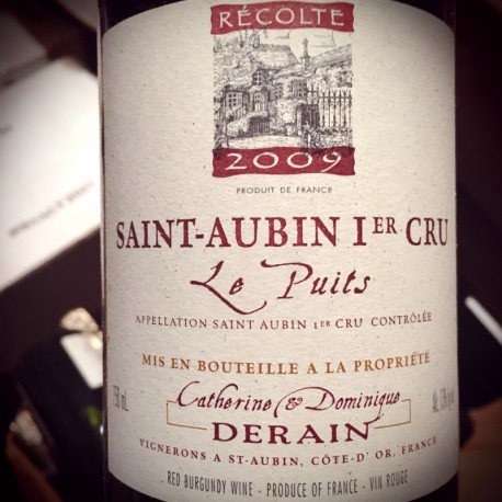 Domaine Derain Saint Aubin 1er Cru Le Puits 2011