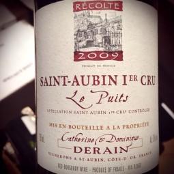 Domaine Derain Saint Aubin 1er Cru Le Puits 2009 Magnum