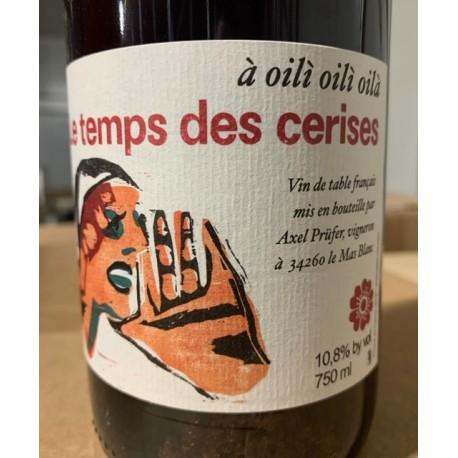 Le Temps des Cerises Vin de France balnc Brutal PP 2015