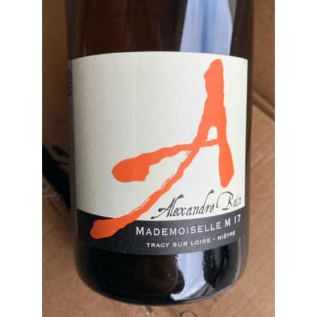 Domaine Alexandre Bain Vin de France Mademoiselle M 24mois 2017