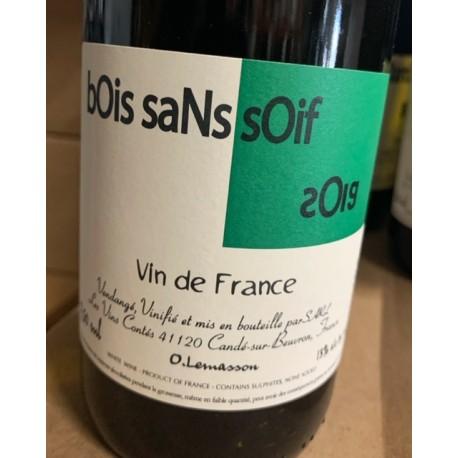 Les Vins Contés Vin de France blanc Bois Sans Soif 2019