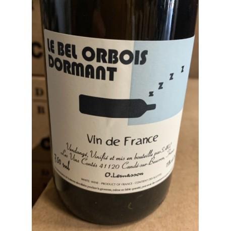 Les Vins Contés Vin de France blanc Le Bel Orbois Dormant 2018